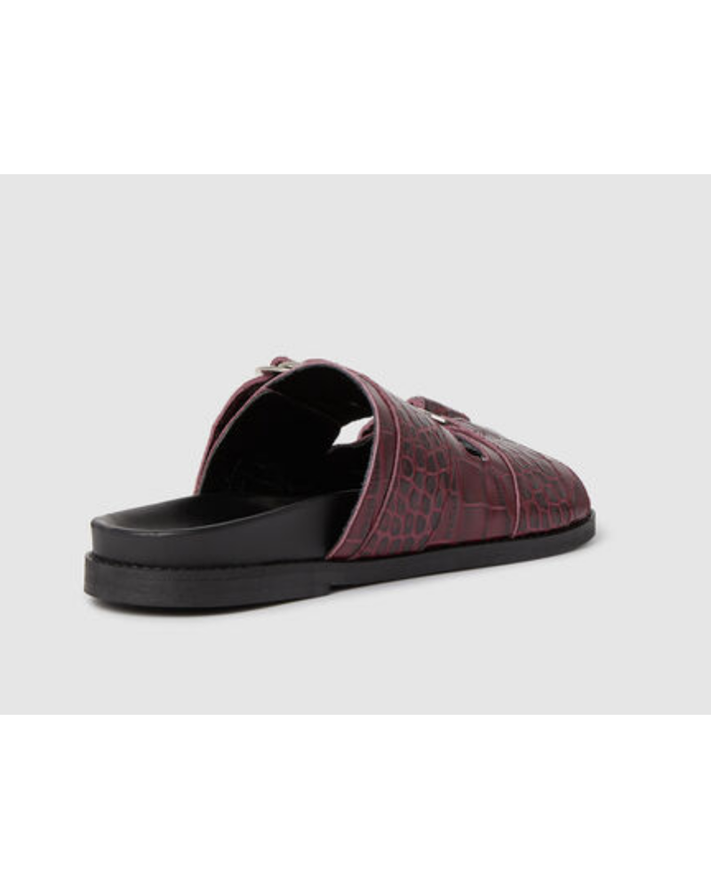 Ganni Leather Sandal