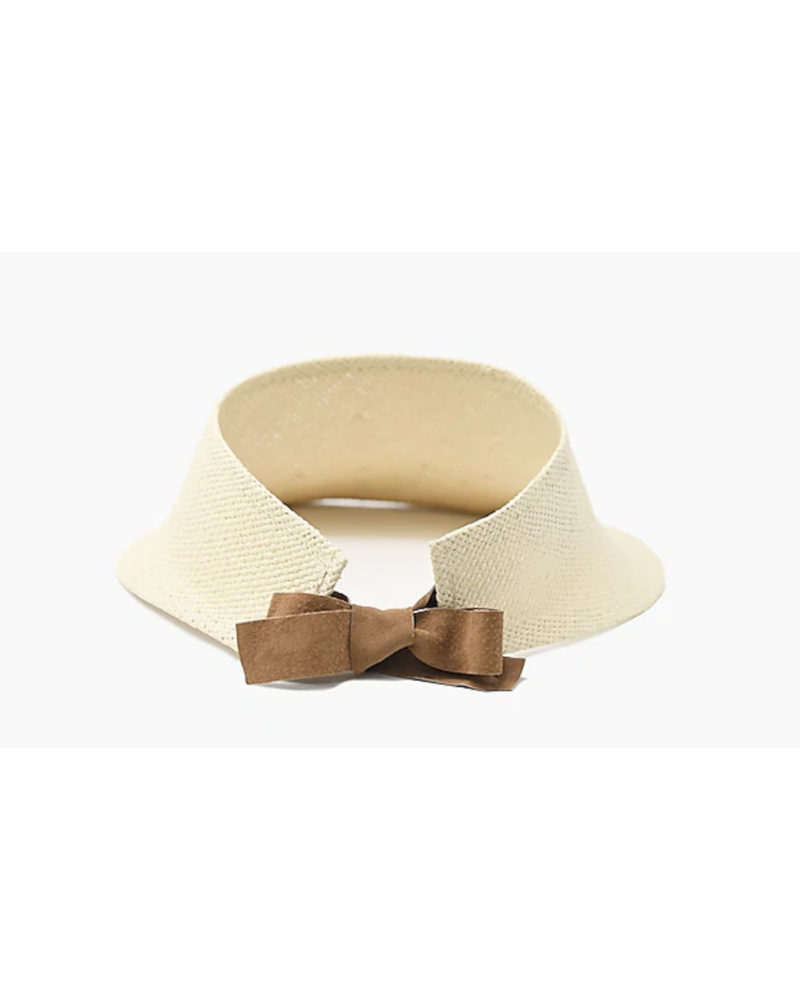 WYETH Margot Straw Visor