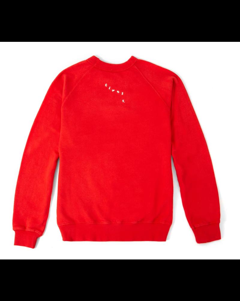 Clare V. Clare V. Sweatshirt LS Tomate