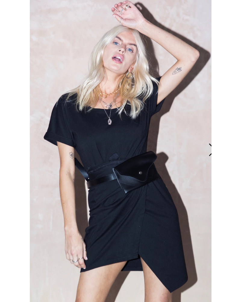 Never Fully Dressed Never Fully Dressed Marl Mini Dress