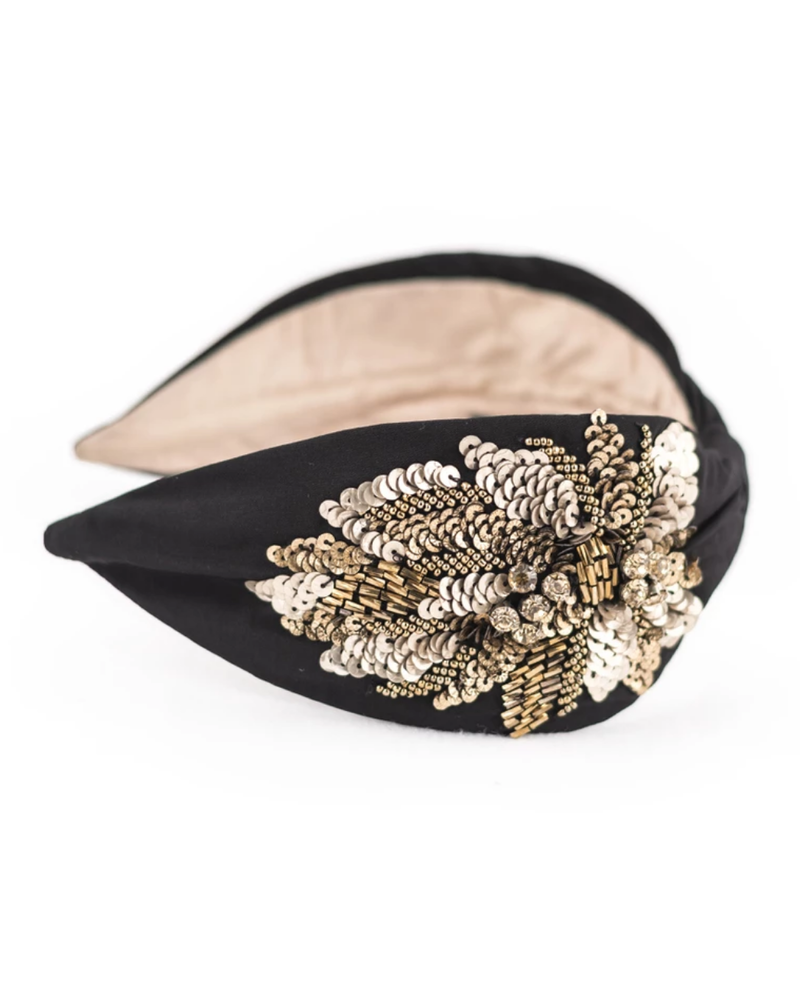 NamJOSH NAMJOSH CLASSIC Beaded/Sequin Headband