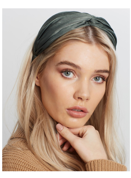 Orelia Silky Turban Headband