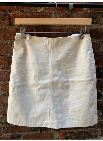 CLOSED Birte Leather Skirt