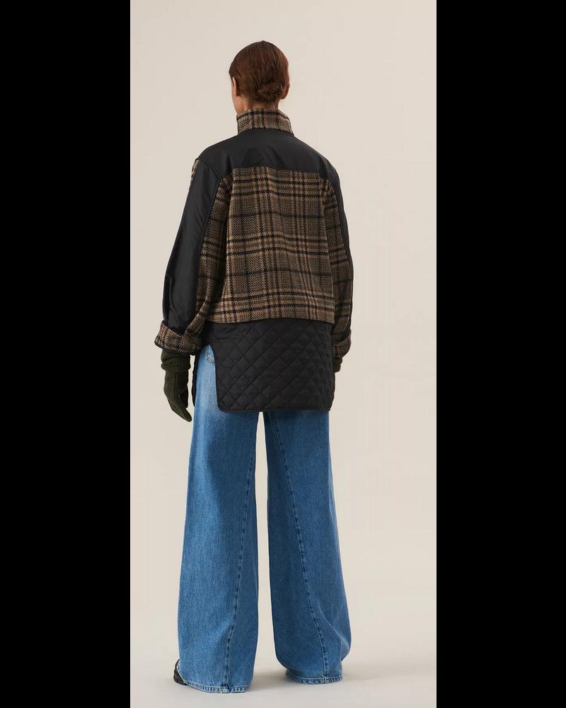 GANNI Tech/Wool Jacket