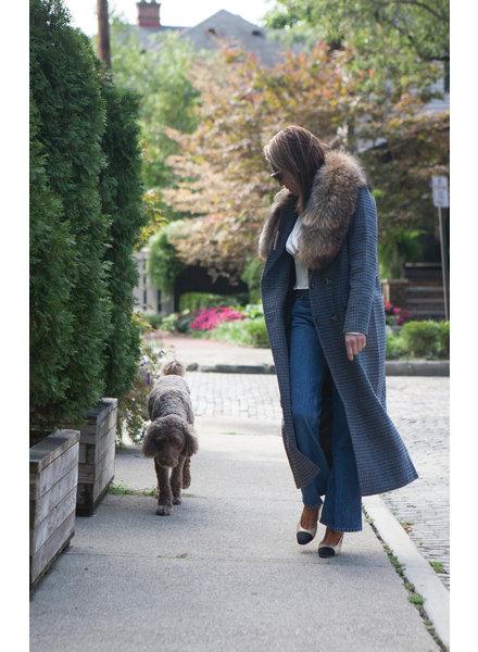 GANNI Check Wool Jacket