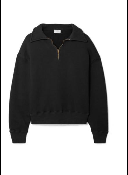 Re/Done 70s Half Zip SweatShirt