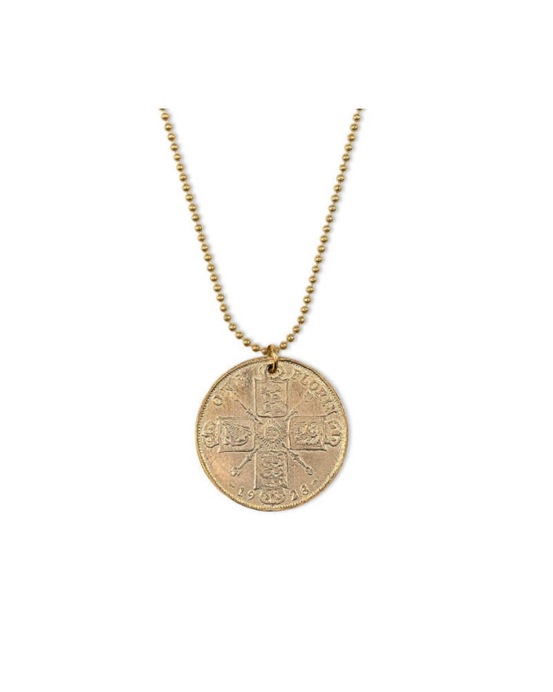 Knights Coin Necklace