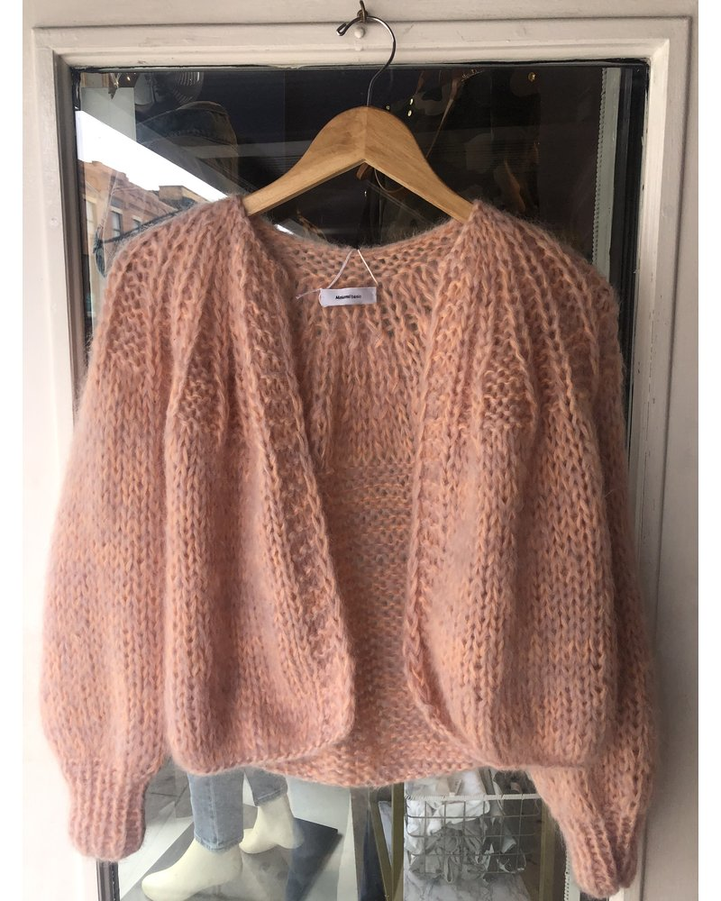 Maiami Pleated Cardigan