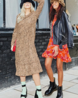Never Fully Dressed Brown Leopard Oversized Dress