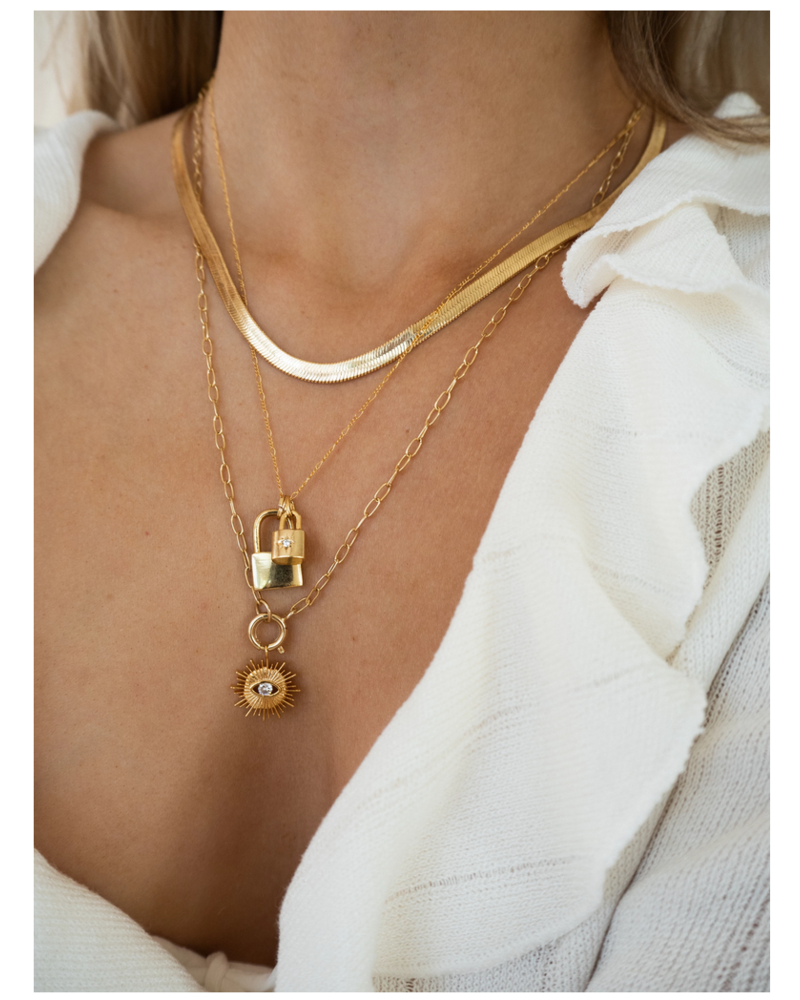 Five and Two Penny Necklace