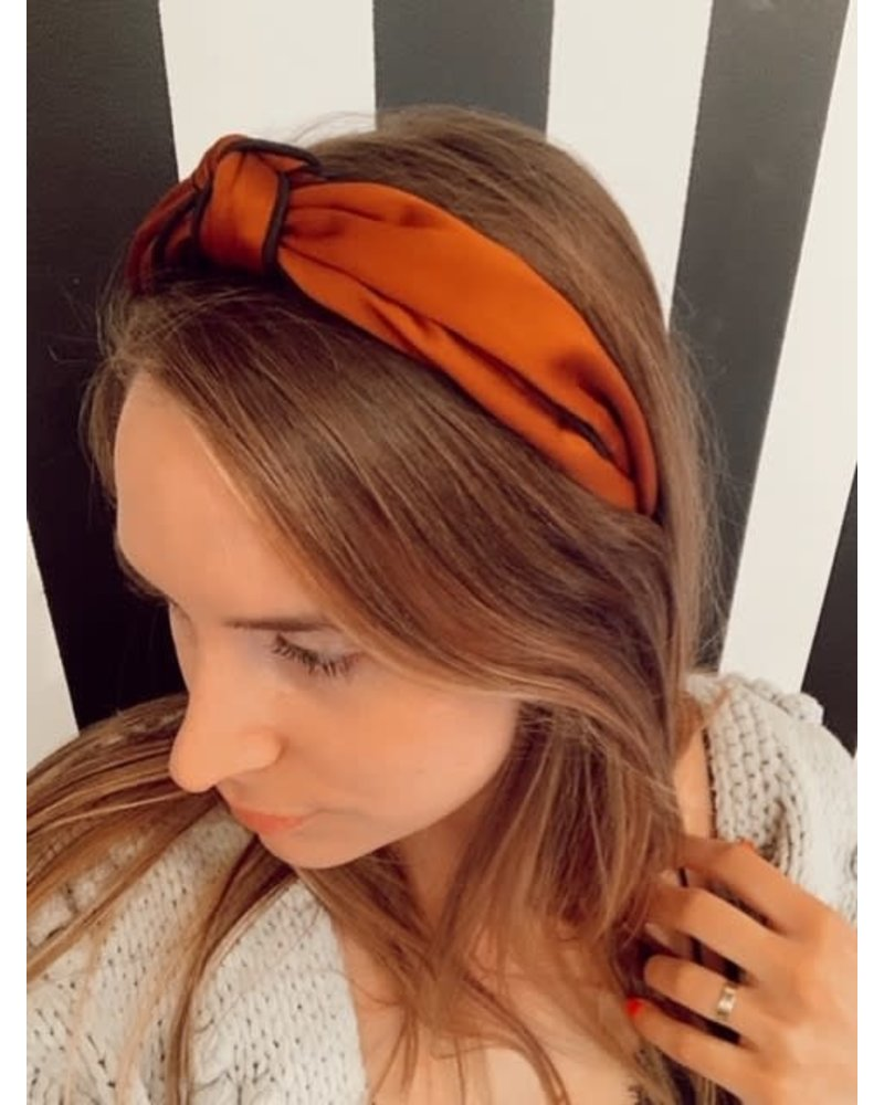 Copper Silk Headband