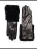 Carolina Amato Leather TT with Fur Cuff
