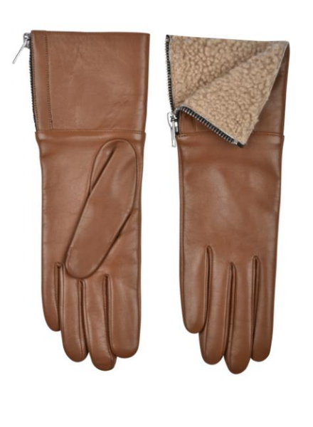 Carolina Amato Touch Tech Leather Glove