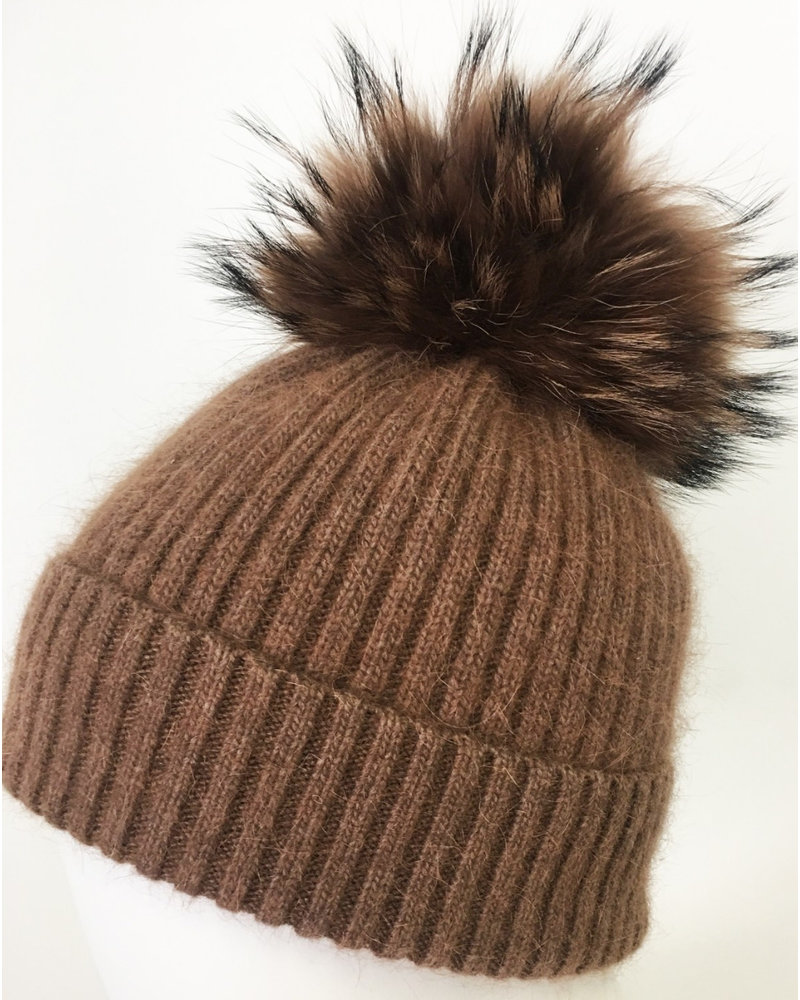 Linda Richards Angora Pom Hat