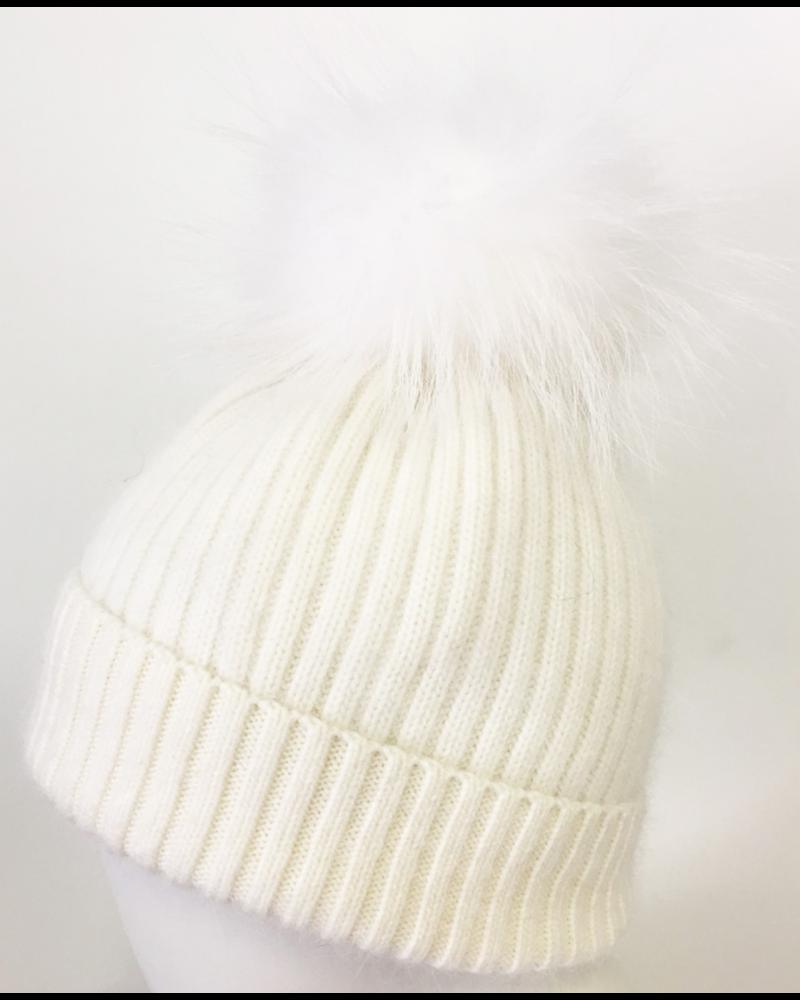 Linda Richards Angora Pom Hat