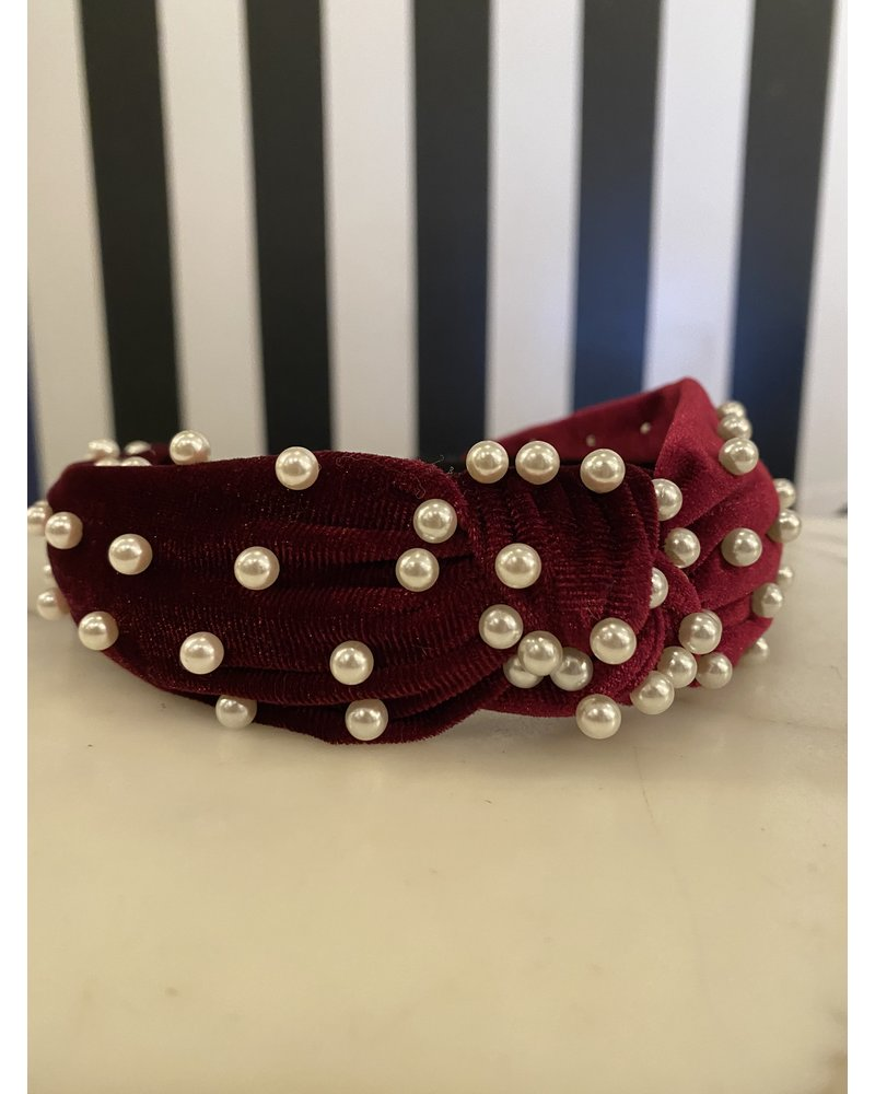 SS Mini Pearl Headband