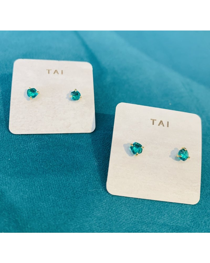 Tai Glass Post Earring