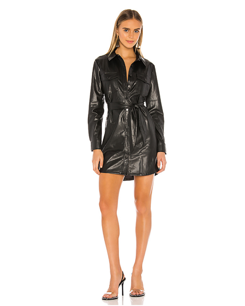 David Lerner Jordan Vegan Shirtdress