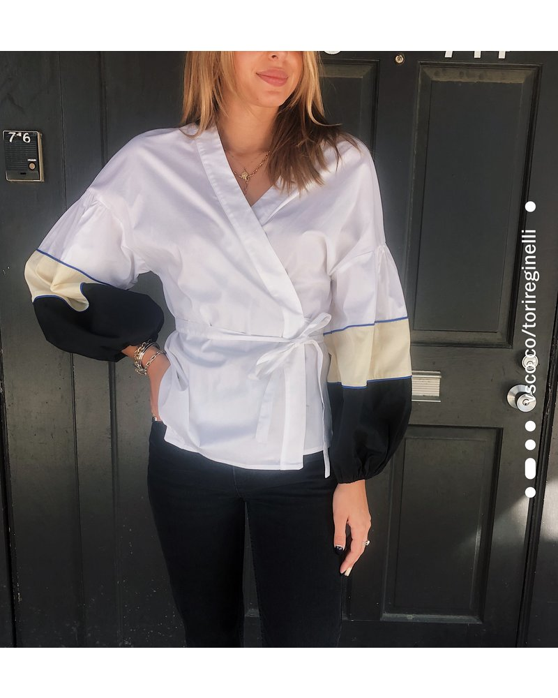 Devotion Wrap Top