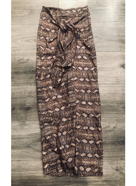Cali Dreaming Canvas Skirt