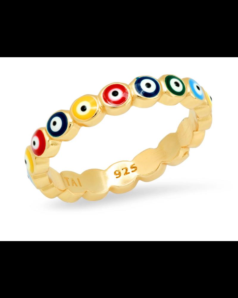 TAI Evil Eye Ring