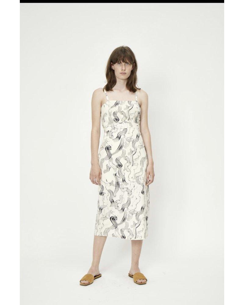 Just Female Paper Strap Dress