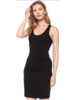 MONROW Shirred Tank Dress