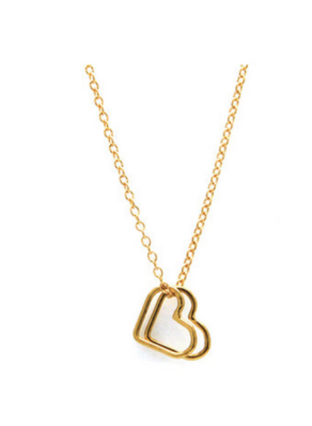 Jurate 2 Heart Necklace