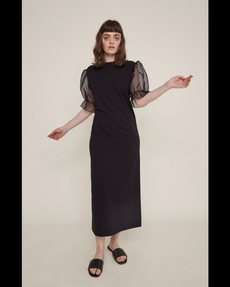 Rita Row Sheer Sleeve Dress