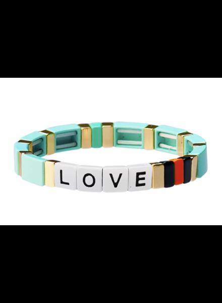 Tai Love Alloy Bracelet