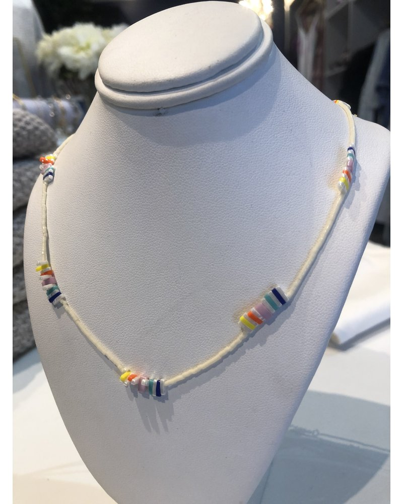 Sandy Hyun Glass Necklace