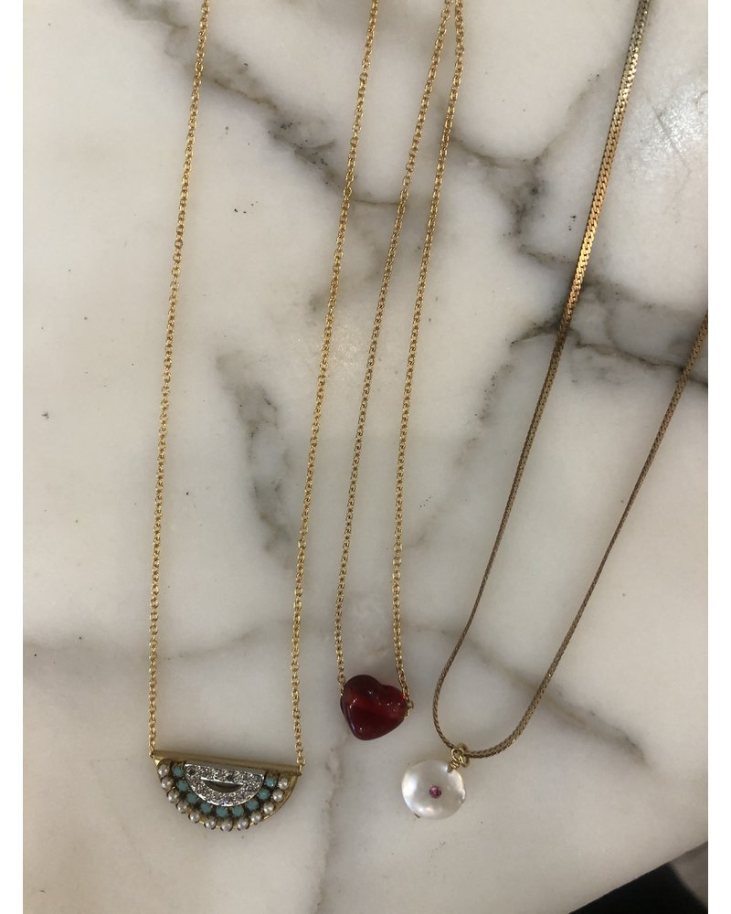 Sandy Hyun 22kt Gold Plated Necklaces