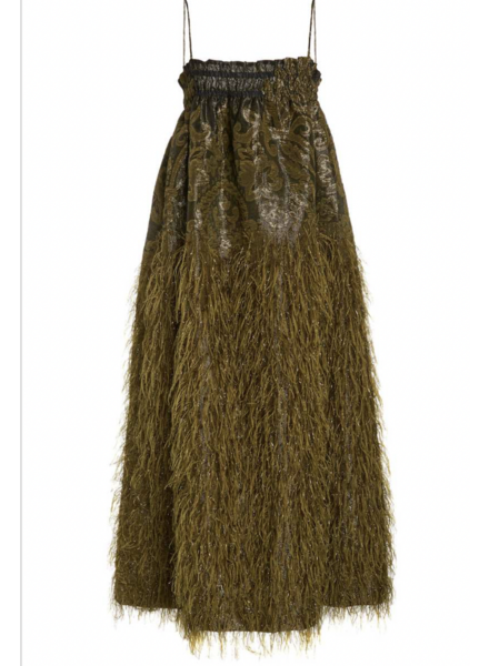 Ganni Feathery Cotton