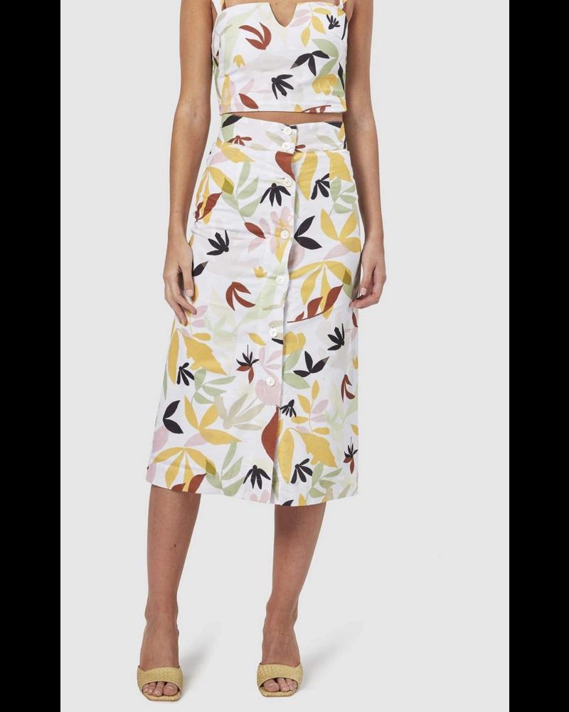 Charlie Palma Midi Skirt