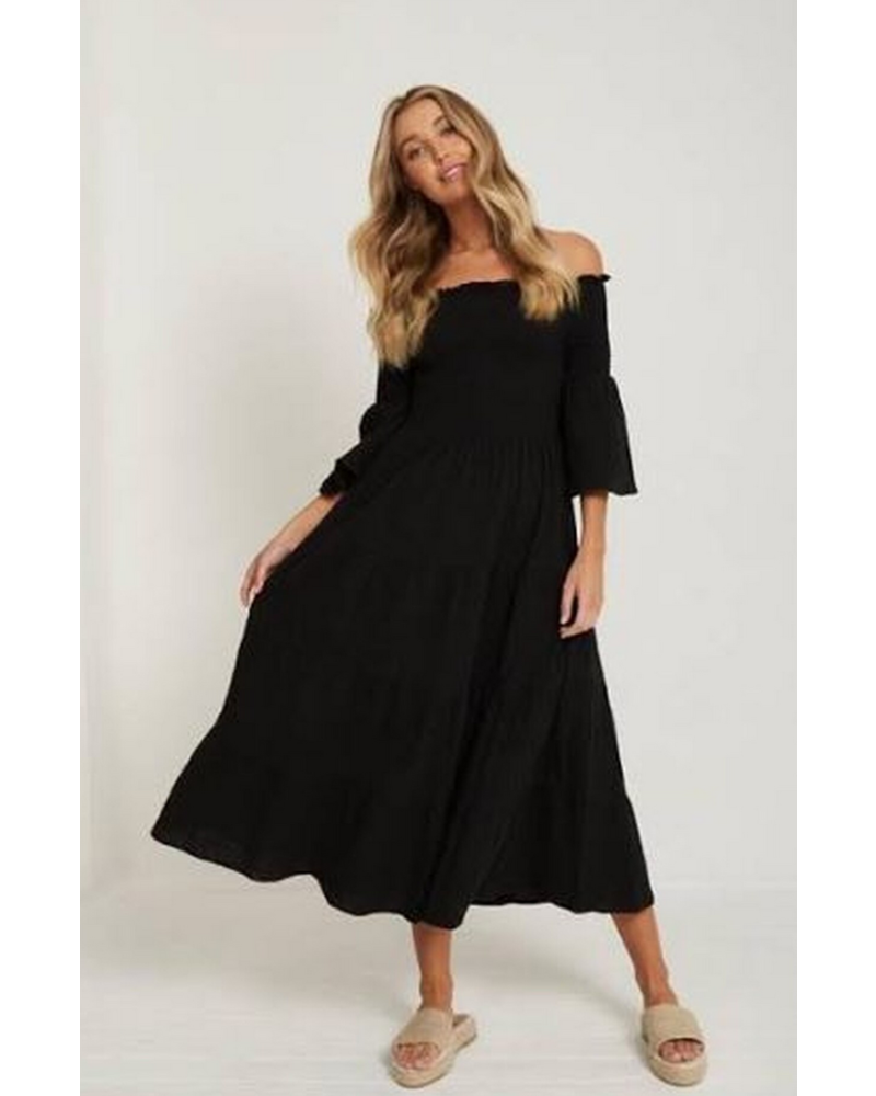 Little Lies Off Shoulder Dress