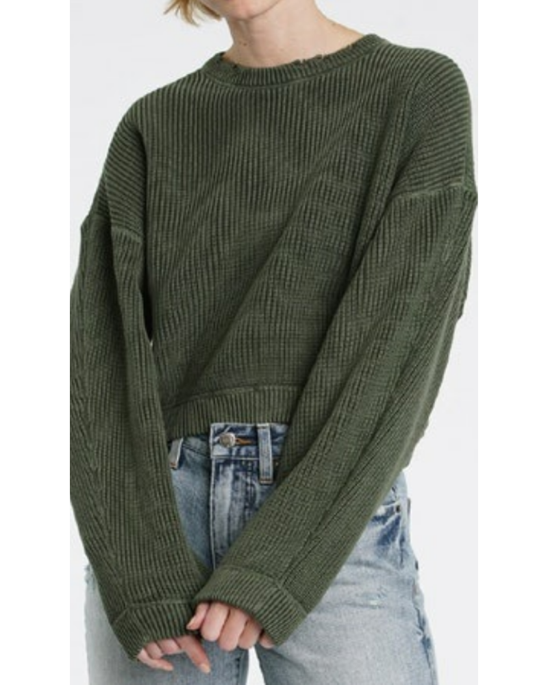 PISTOLA Frances Cropped Sweater