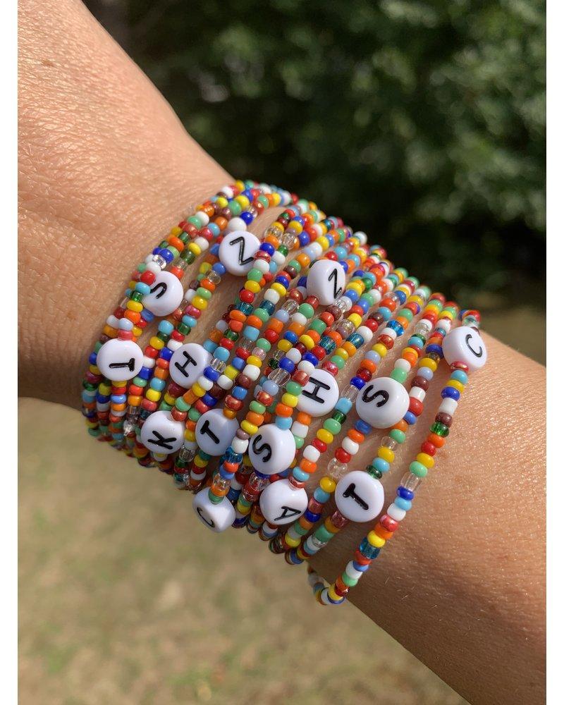 BAS Initial Bracelet