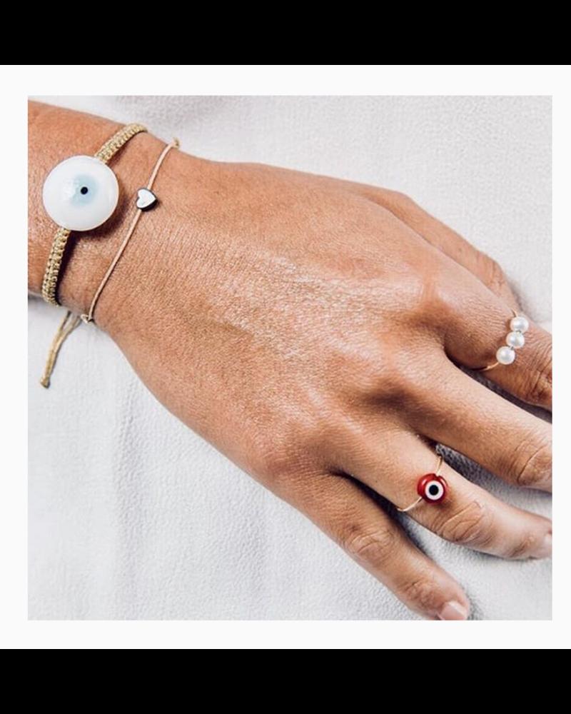 OIYA Hematite Charm Bracelet