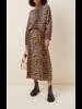 Ganni Georgette Midi Skirt