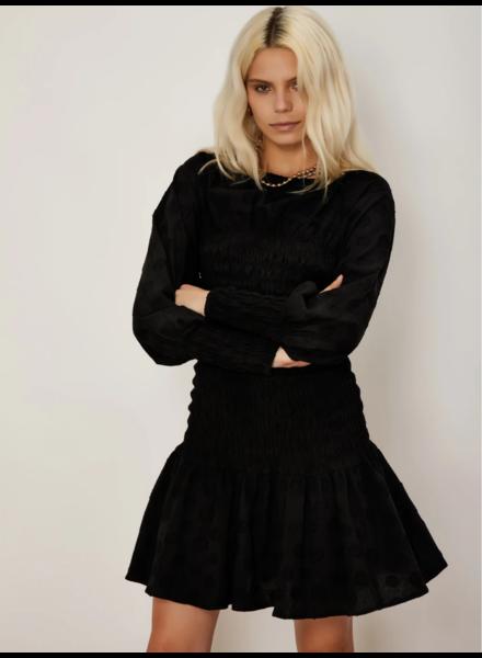 Sister Jane Modernism Shirring Mini Dress
