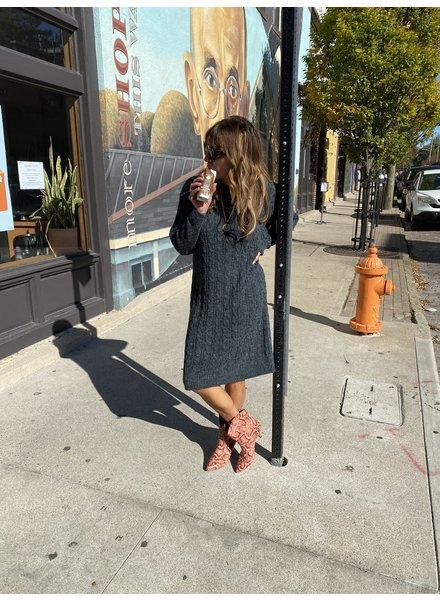 Little Lies Claudia Knitted Dress