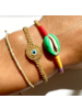 OIYA Gold Twisted Bracelet