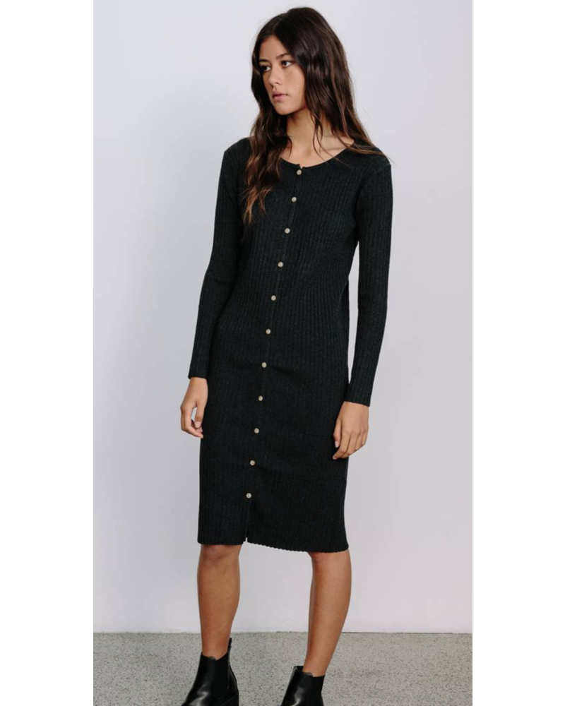 Little Lies Knitted Ribbed Dress
