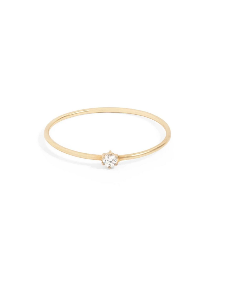 By Charlotte 14k Sweet Droplet Ring