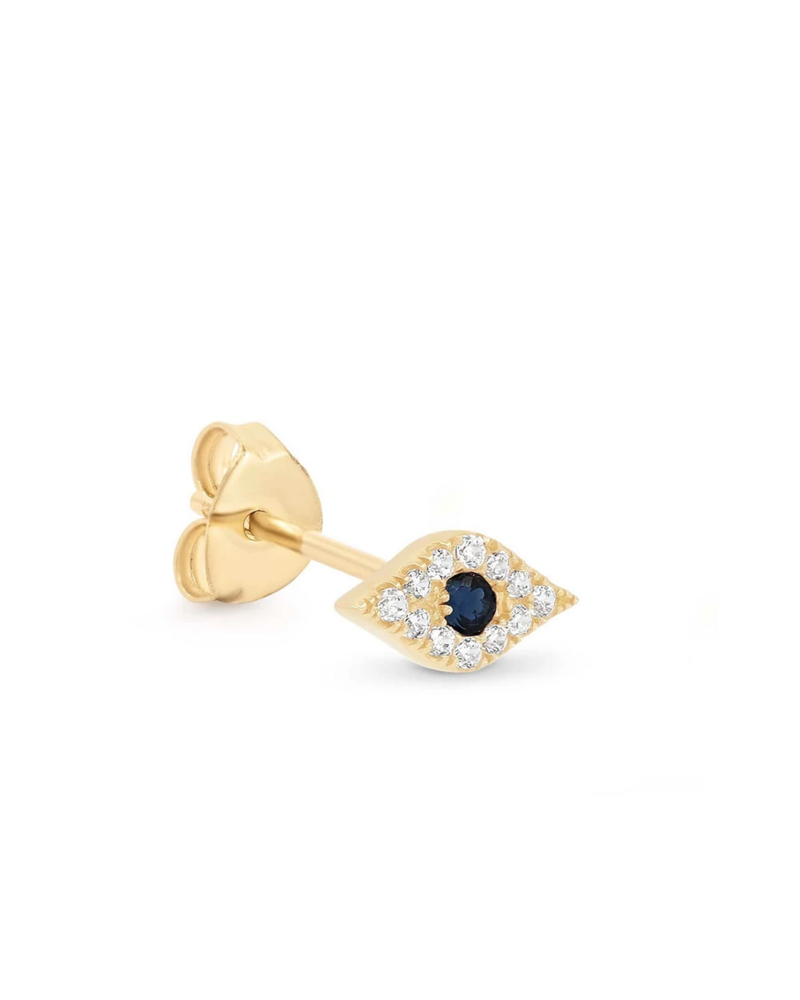 By Charlotte 14k Evil Eye Single Earring