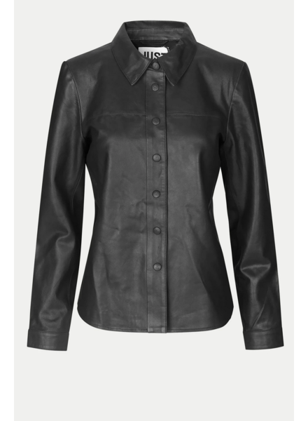 Just Female Joy Leather Shirt