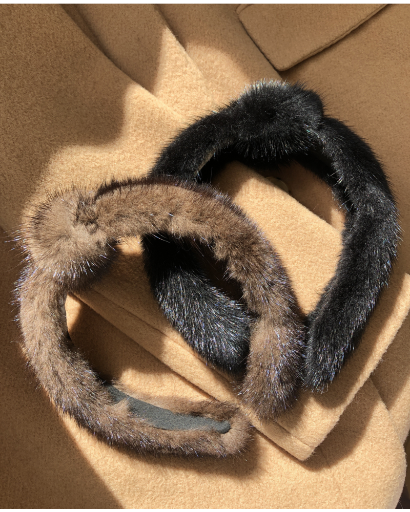 Linda Richards Mink Headband