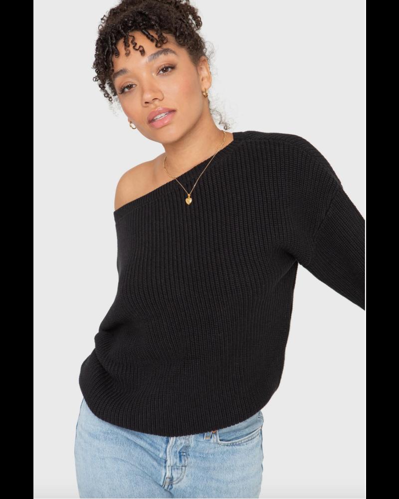 Callahan Off-Shoulder Sweater