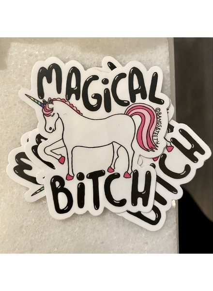 B & T Unicorn Sticker