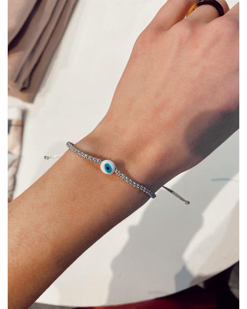OIYA Evil Eye Braided Bracelet